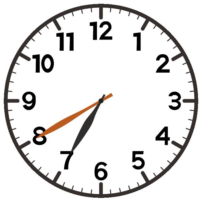 7時40分