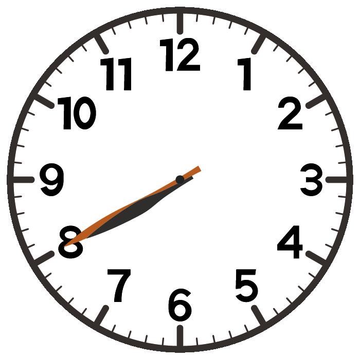 8時40分