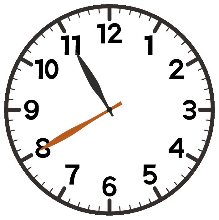 11時40分