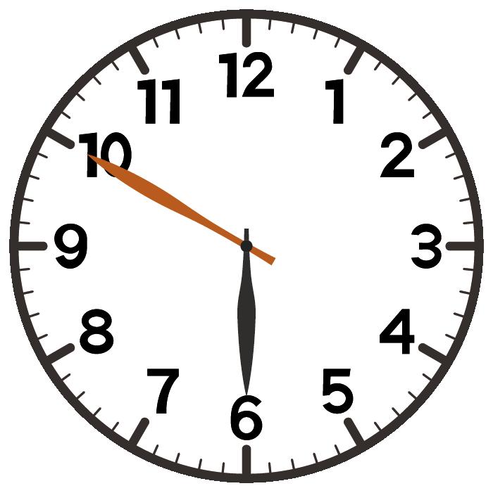 6時50分