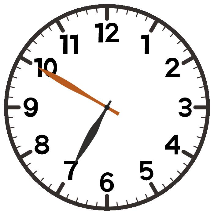 7時50分