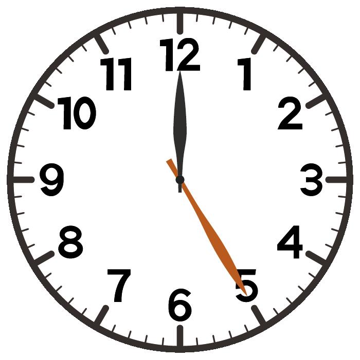 12時25分