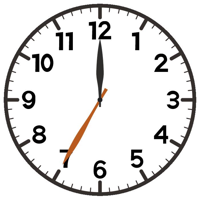 12時35分