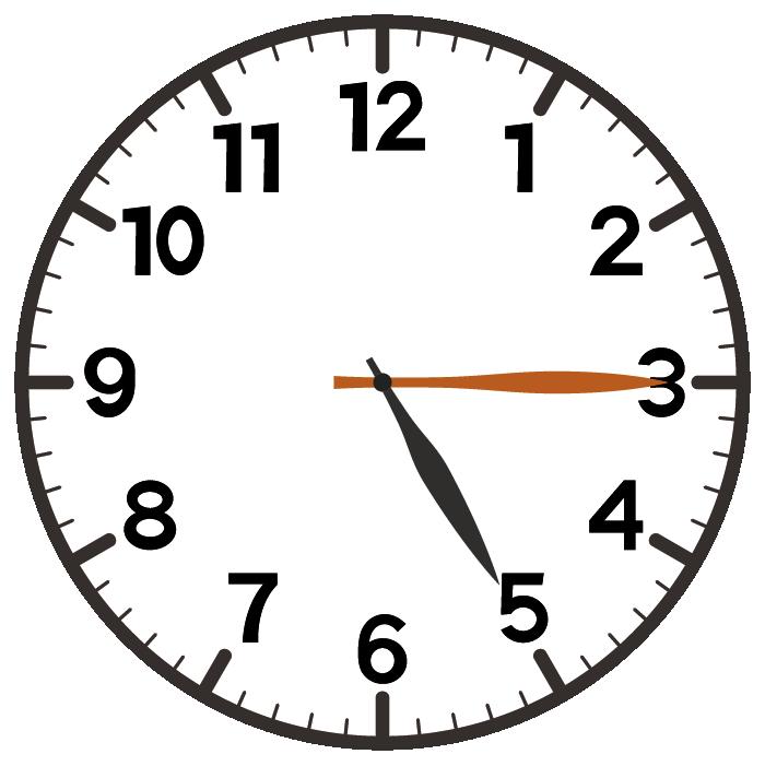 5時15分