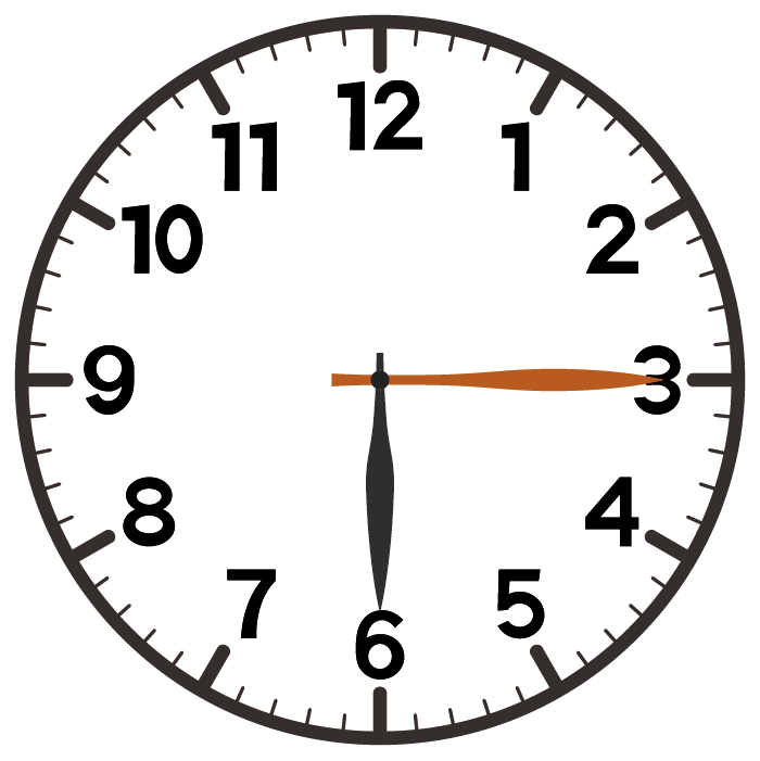 6時15分