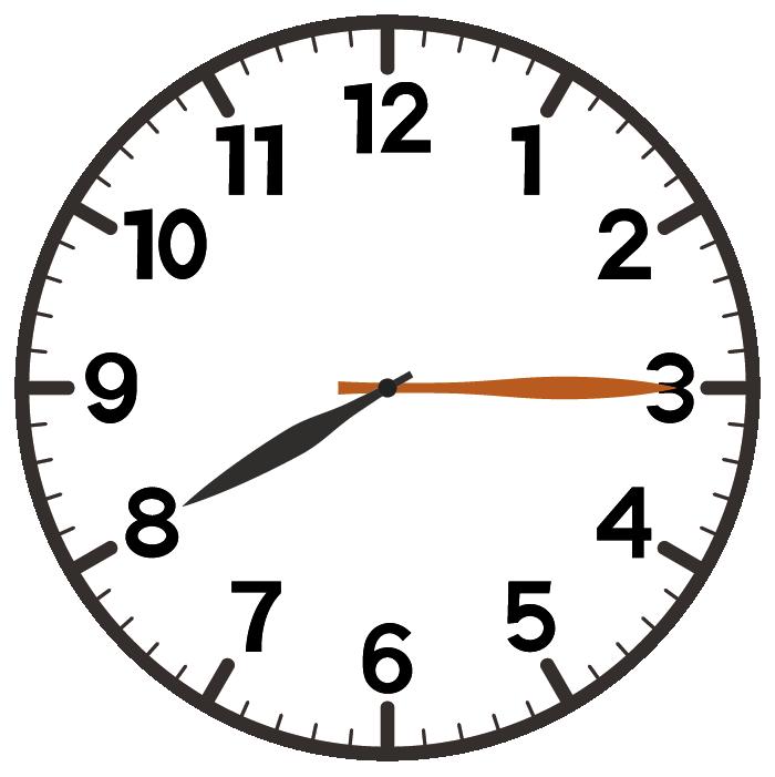 8時15分