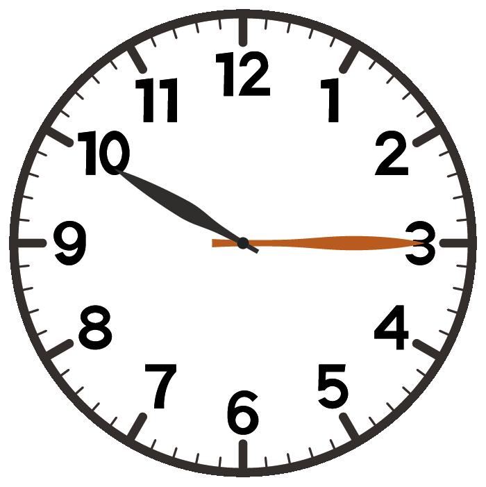 10時15分