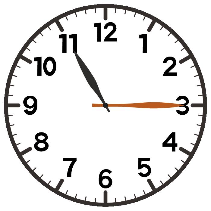 11時15分
