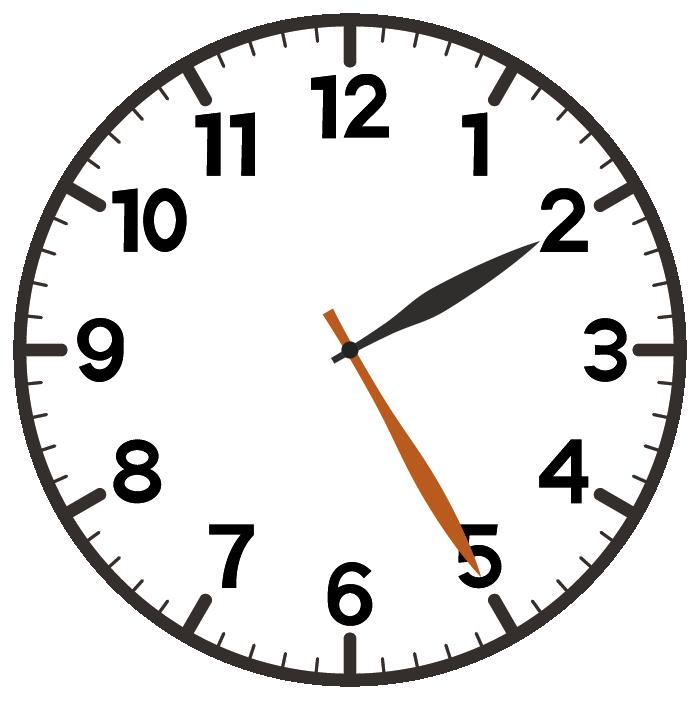2時25分