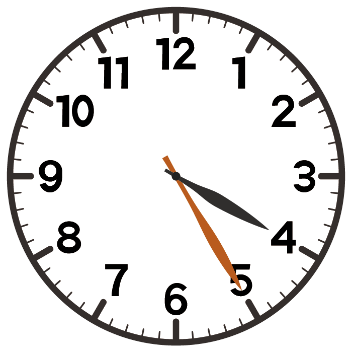4時25分