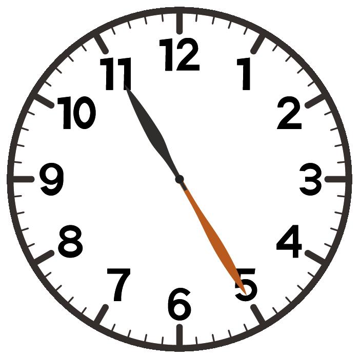 11時25分