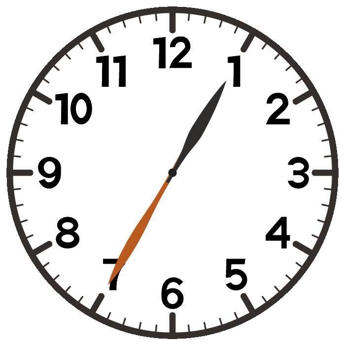 1時35分