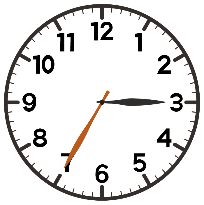 3時35分