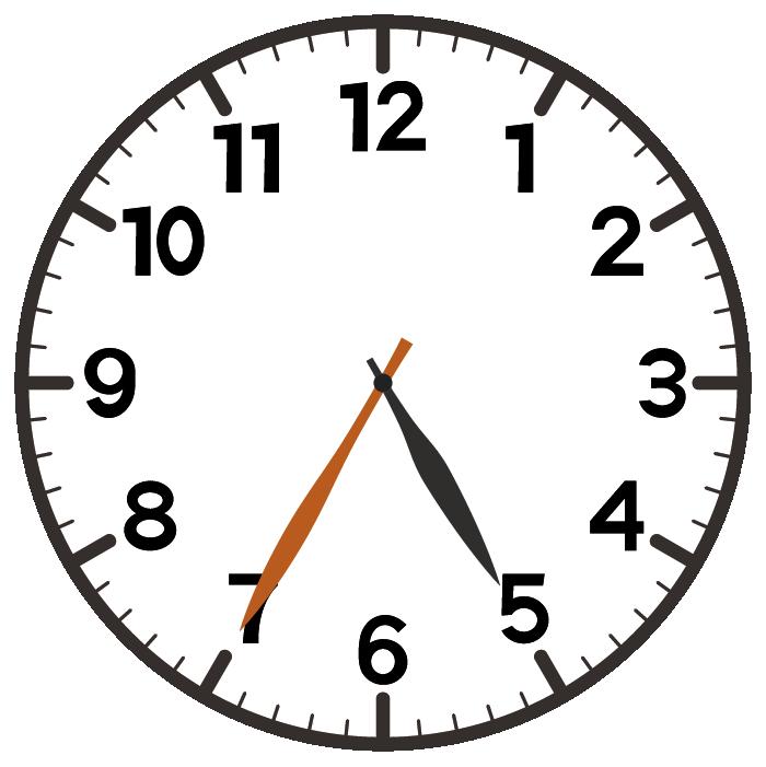 5時35分