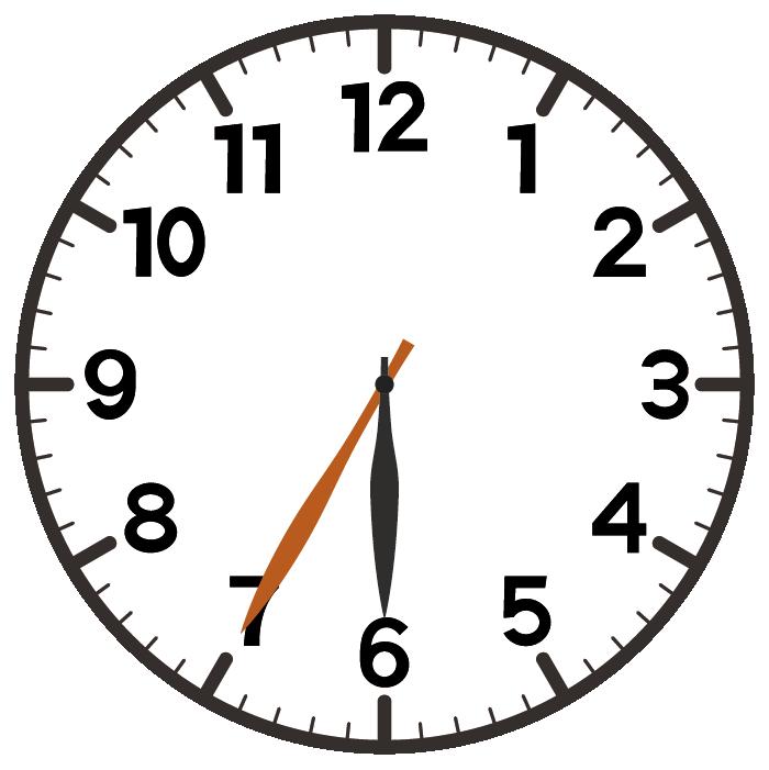 6時35分