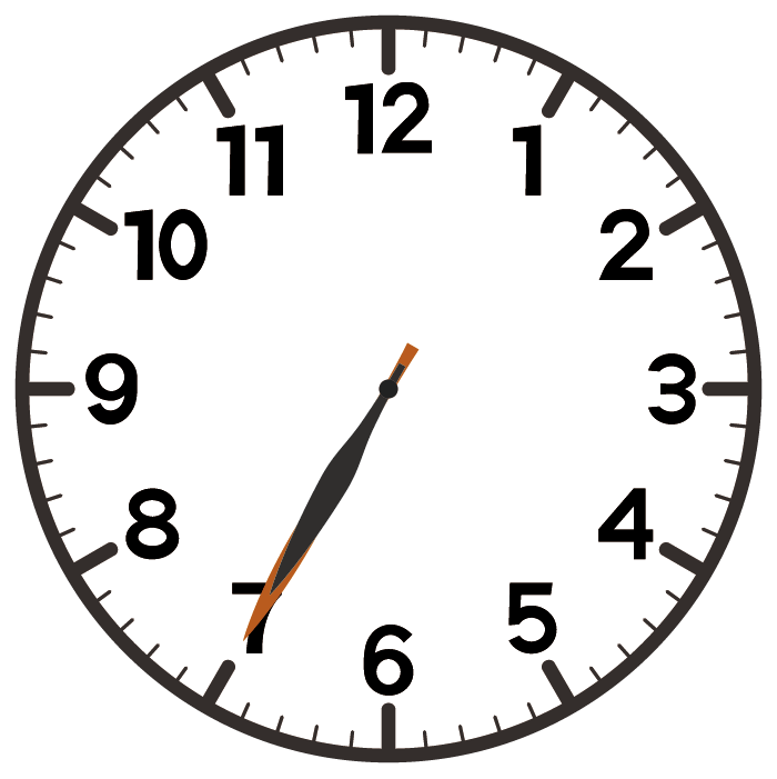 7時35分