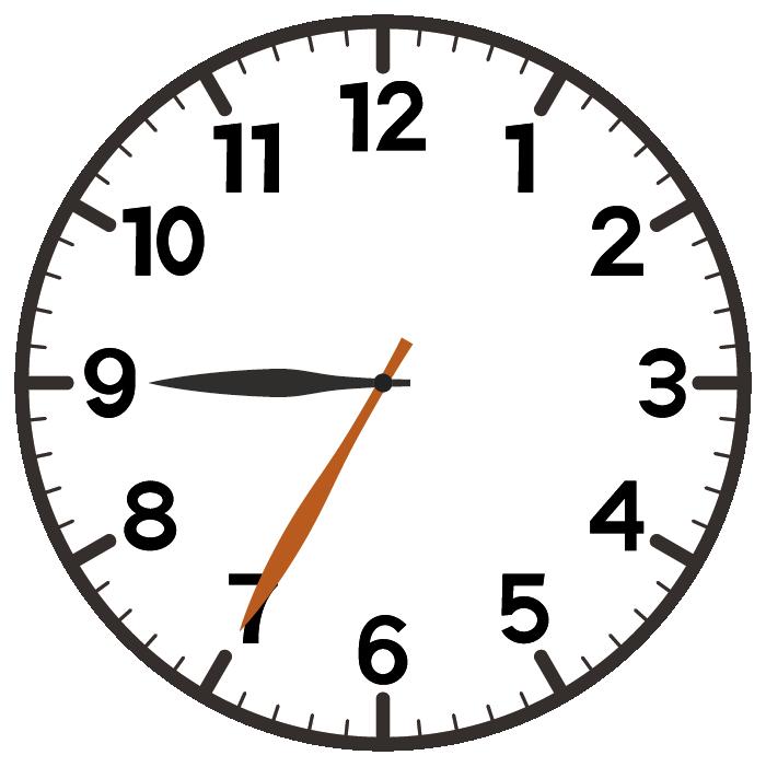 9時35分