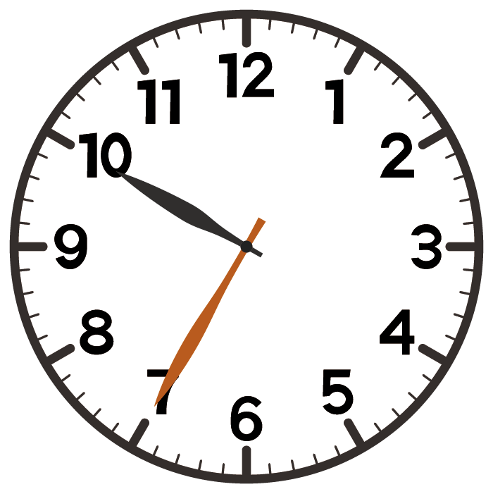 10時35分