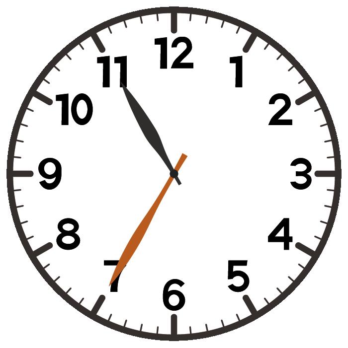 11時35分