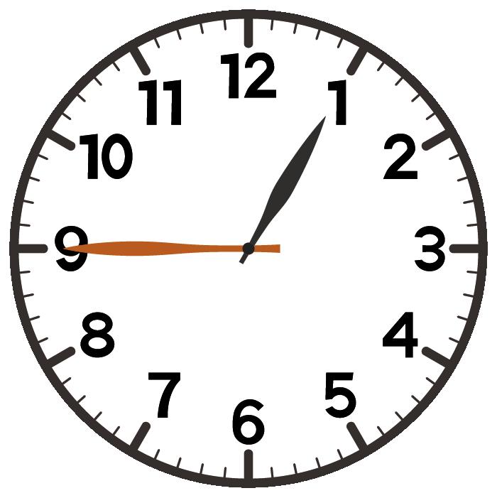 1時45分
