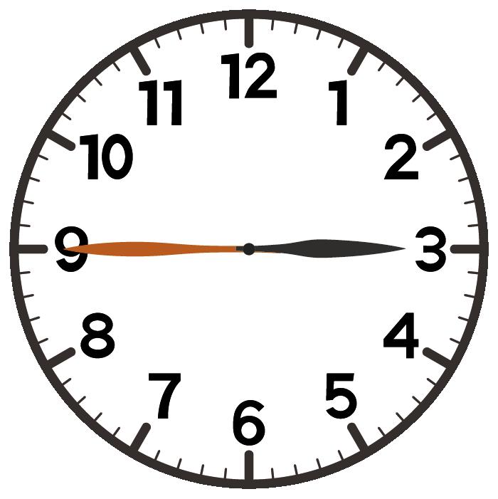 3時45分