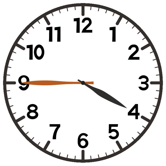 4時45分
