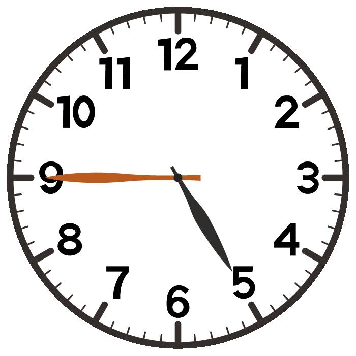 5時45分