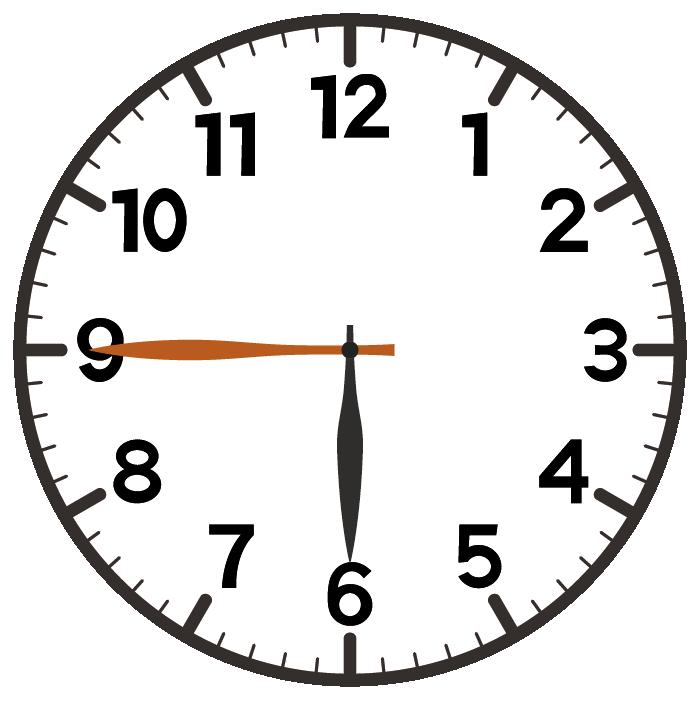 6時45分