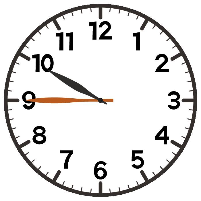 10時45分