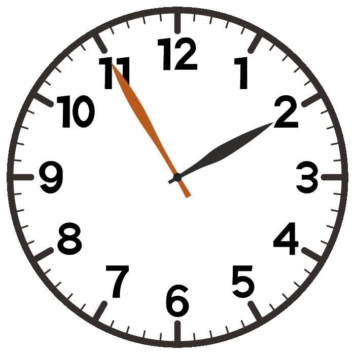 2時55分