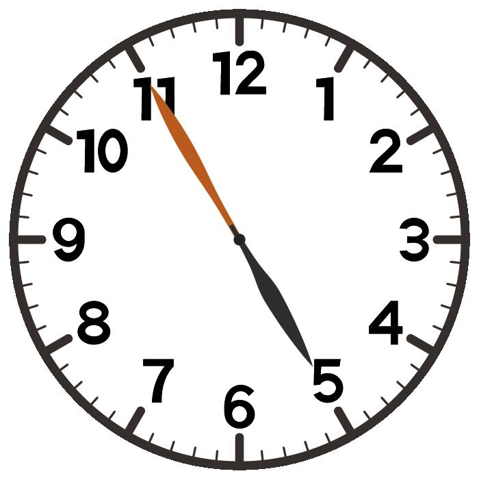 5時55分