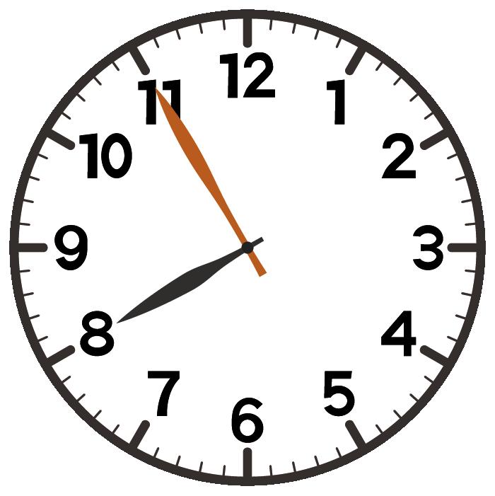 8時55分