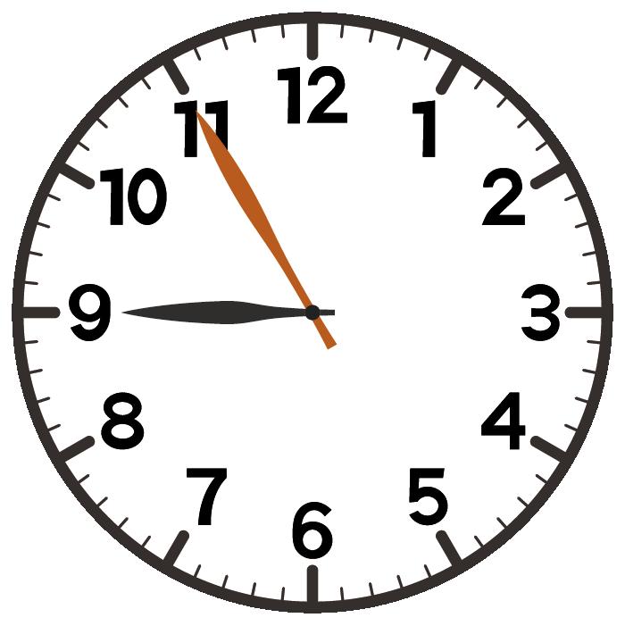 9時55分