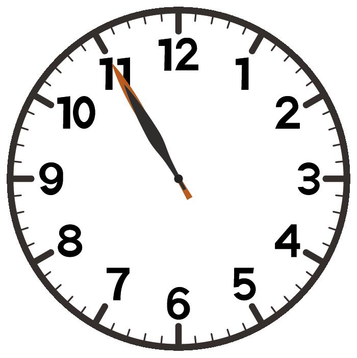 11時55分