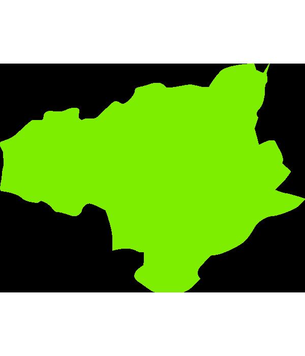 徳島の大陸のイラスト