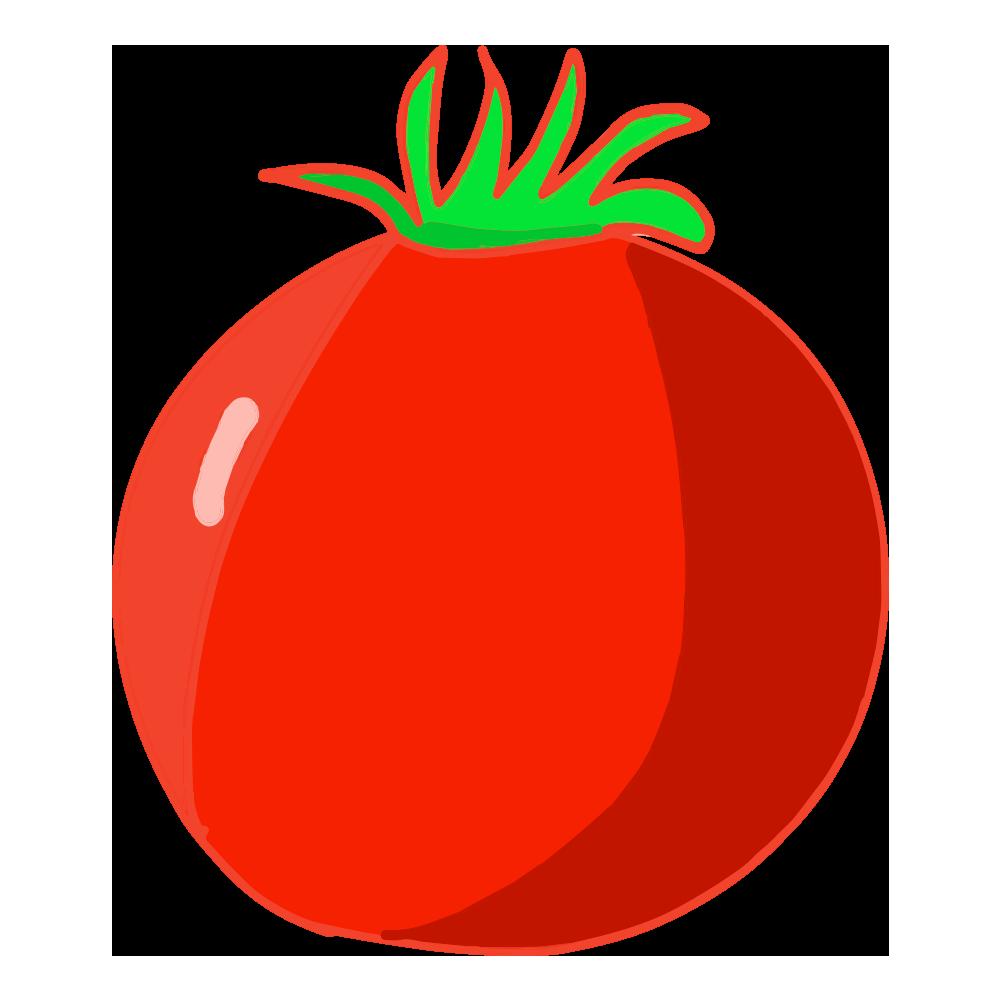 可愛いトマトイラスト