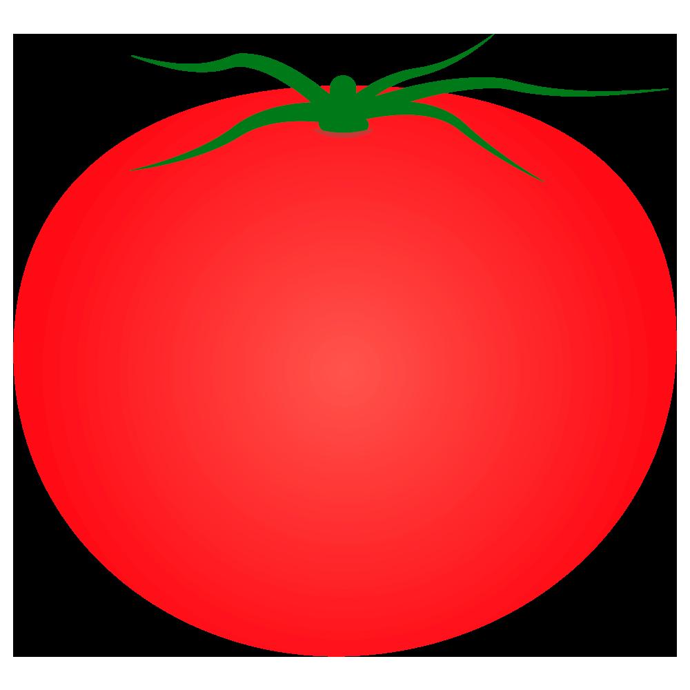 シンプルなトマトのイラスト