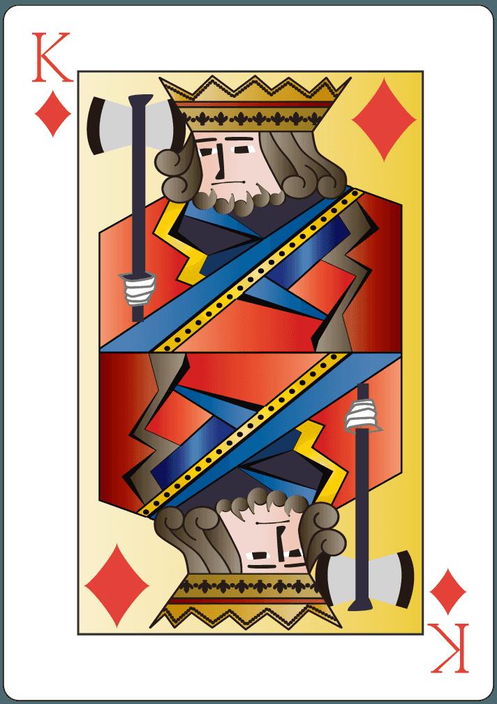ダイヤのキング(13)のイラスト