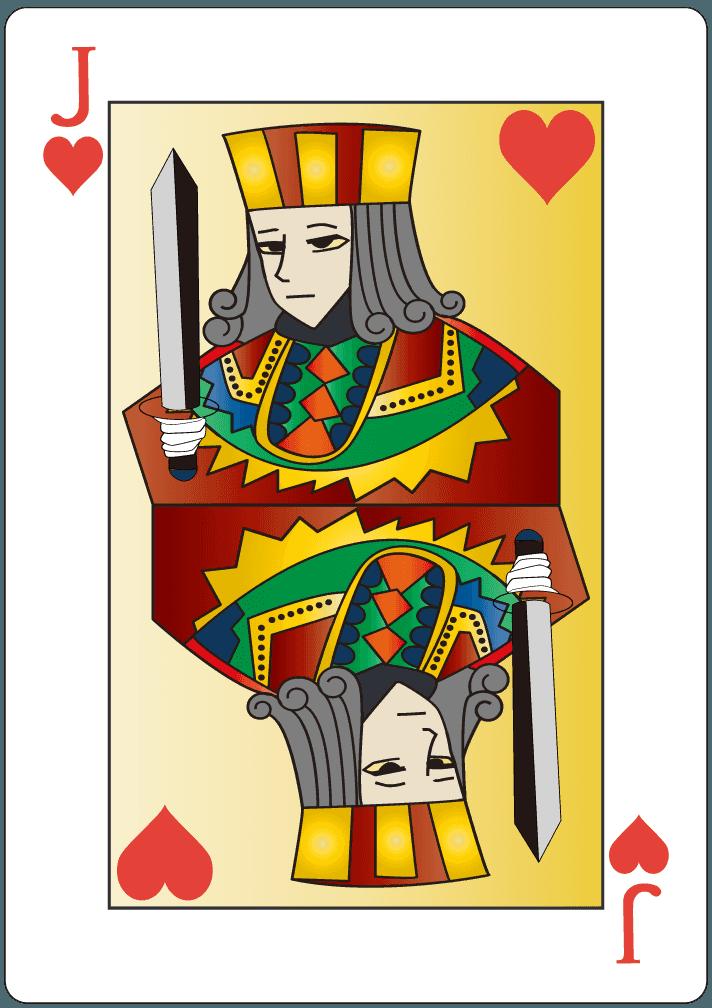 ハートのジャック(11)のイラスト