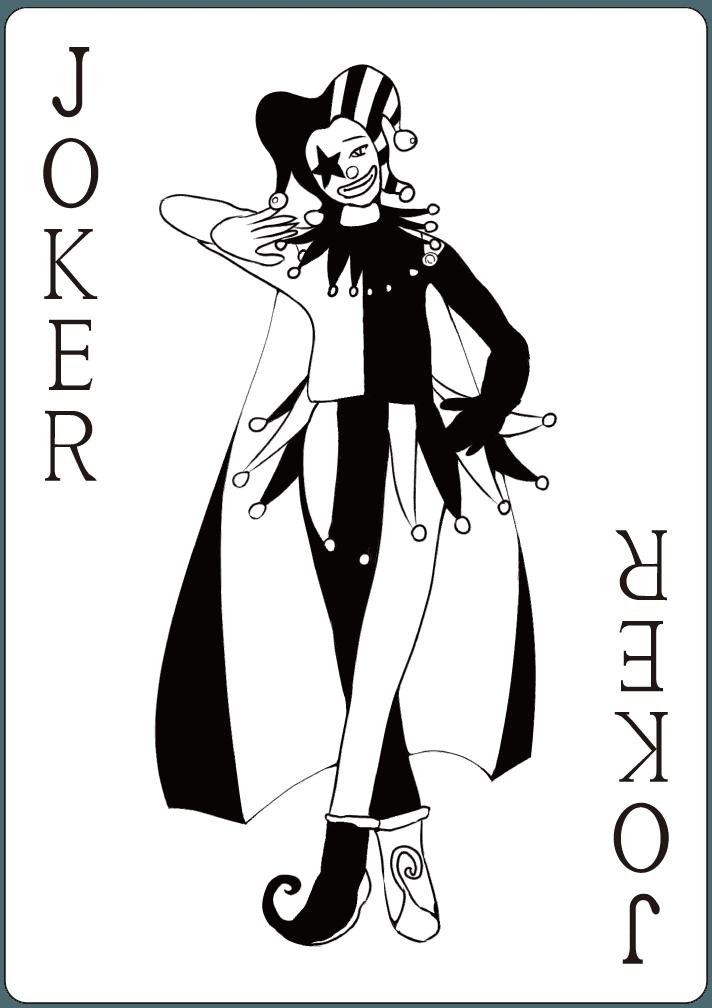 ジョーカーのイラスト