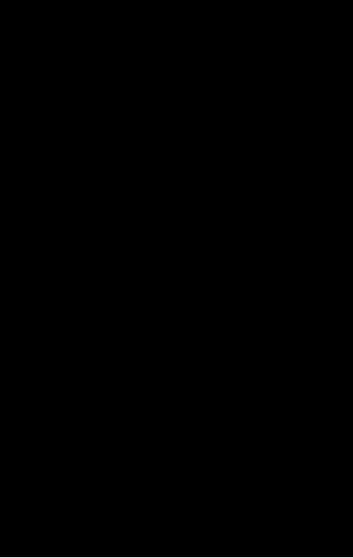 トレジャーハンターのイラスト(黒塗りシルエット)