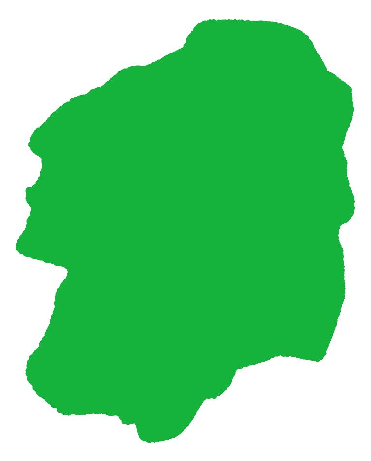 栃木のイラスト(緑)