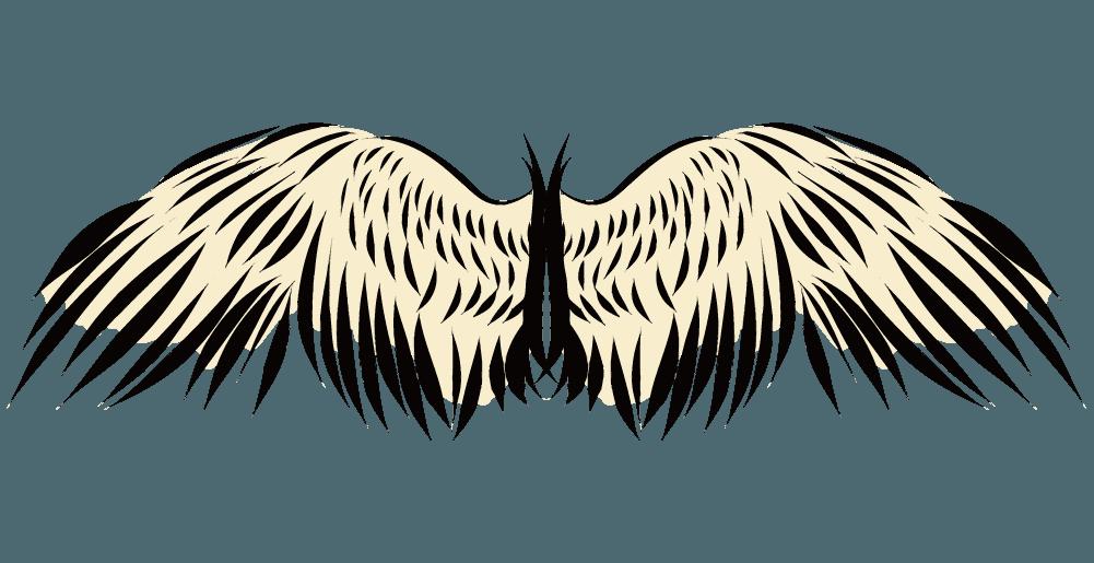 古代の翼のイラスト