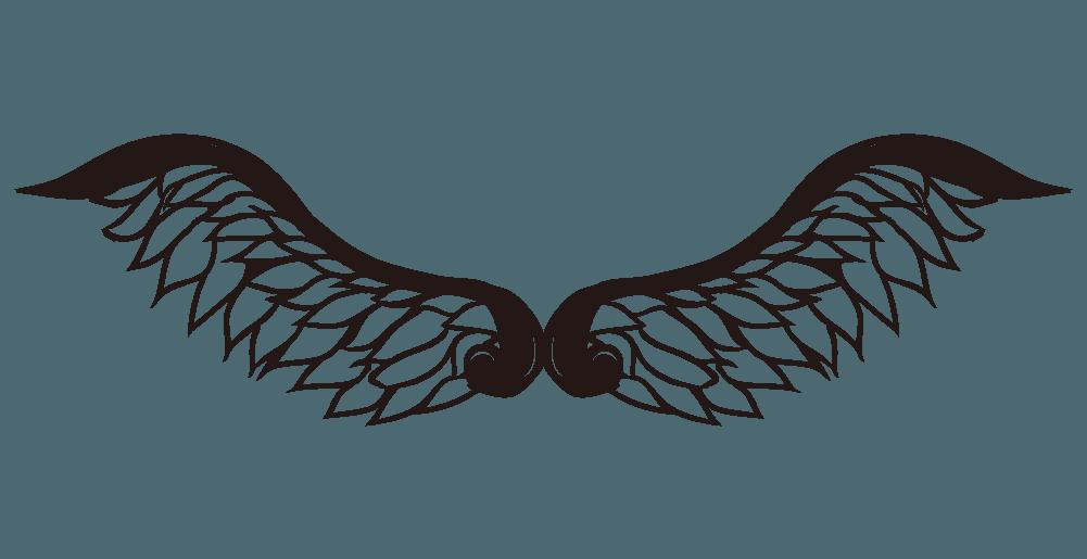 ペガサスの翼のイラスト