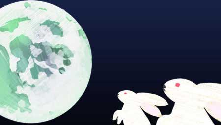 月イラスト - お月見やハロウィンに使える無料素材