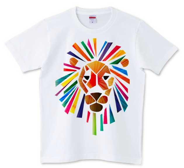 ビビッドなライオン