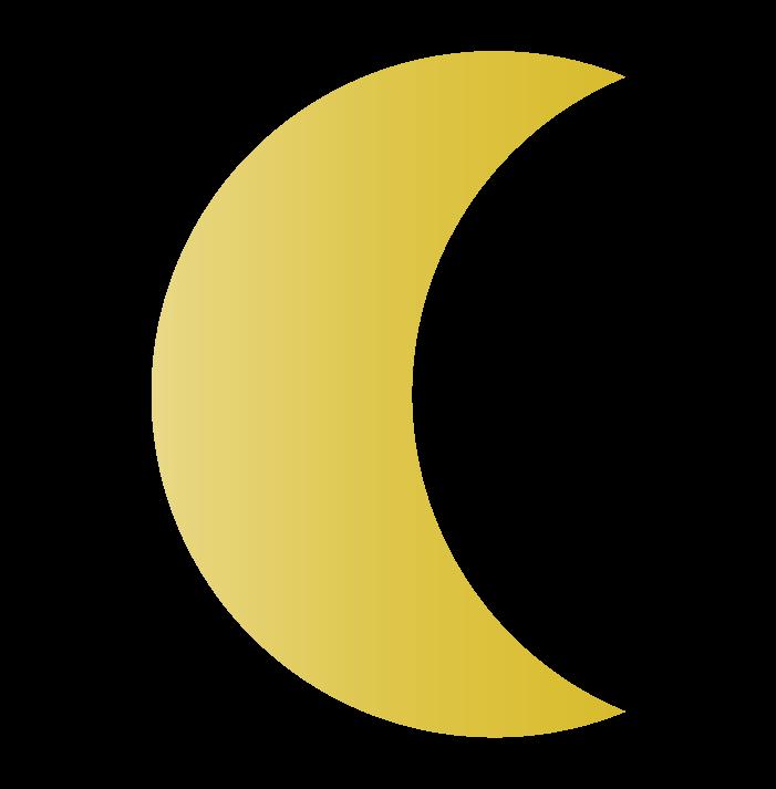 月のイラスト4