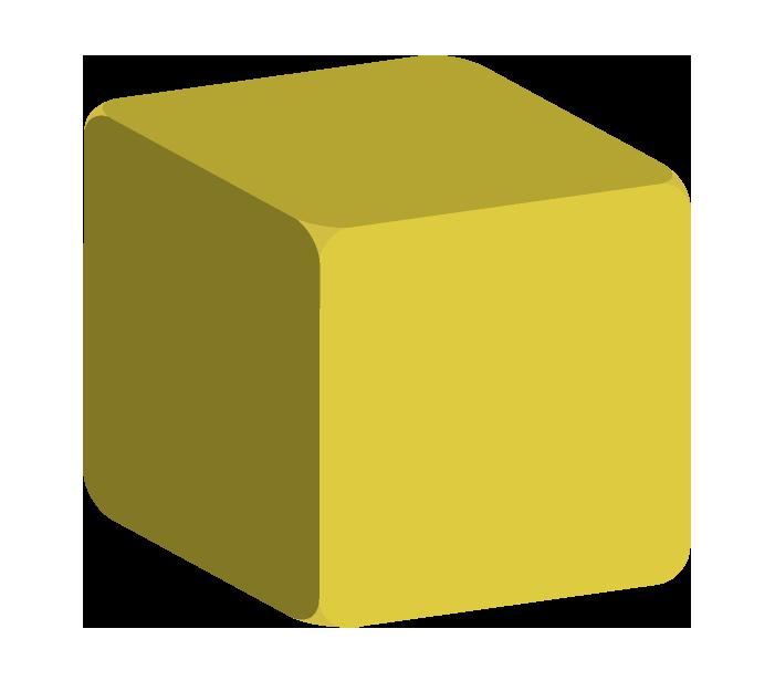 正方形の積み木