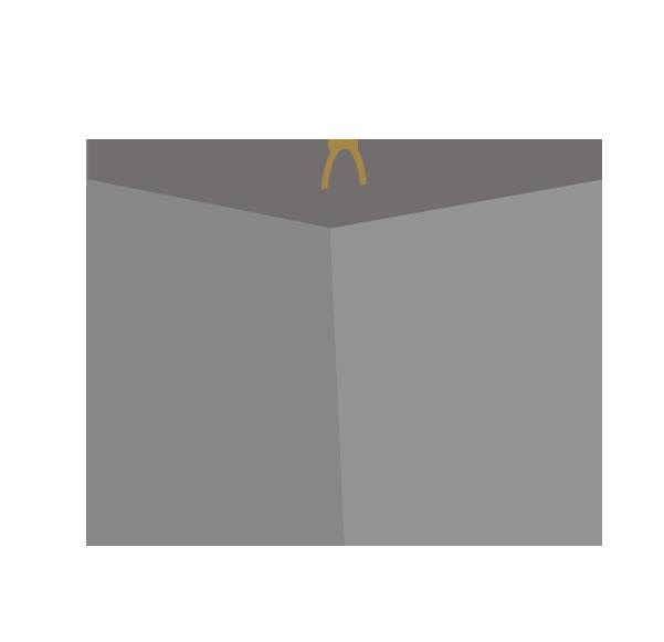 三角オモリ