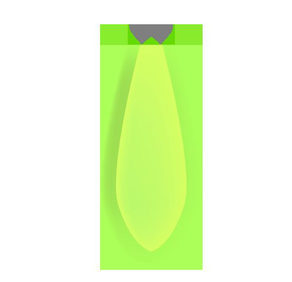 夜光塗料オモリ
